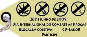 Blogagem coletiva contra as drogas
